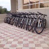 Photo taken at велопрокат limpopo  в магазине рублевка by Павел П. on 6/4/2014