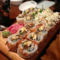 Photo taken at Sushi Yoshi by Noura O. on 12/22/2012