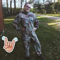 """Photo taken at Paintball park """"PIF PAF"""" by Tīna K. on 9/16/2016"""