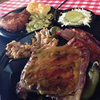 Photo taken at Bessinger's Barbeque by BrennerBrewing C. on 11/6/2013