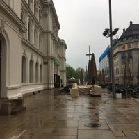 Photo taken at Christian Frederiks plass by Morten A. on 5/18/2017