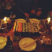 Photo taken at Kohai sushi bar by Alexandra B. on 2/27/2015