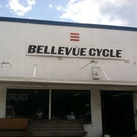 Photo taken at Bellevue Cycle by Bob H. on 6/26/2013