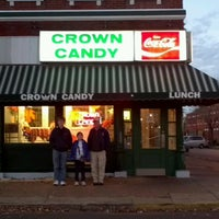 Photo taken at Crown Candy Kitchen by Michele R. on 10/26/2012