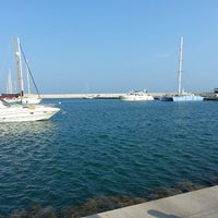 Photo taken at Mersin Marina by Okan Y. on 7/12/2013