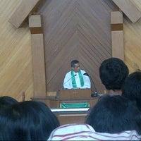 Photo taken at Gereja GPIB Pancaran Kasih by zico p. on 10/28/2012