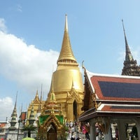 Photo taken at Temple of the Emerald Buddha by Andrew S. on 3/1/2013
