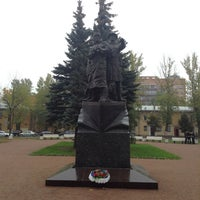 Photo taken at Памятник Подвигу моряков полярных конвоев by Владимир В. on 10/10/2014