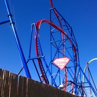 Photo taken at Superman Ultimate Flight by Dave on 11/3/2012