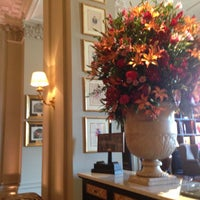 Photo taken at The St. Regis Florence by Christopher G. on 4/14/2013