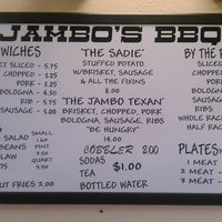 Photo taken at Jambo's BBQ Shack by Melissa D. on 7/8/2014
