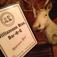 Photo taken at Williamson Brothers Bar-B-Q by Joel S. on 11/3/2012