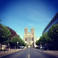 Photo taken at Reims by Frédéric S. on 4/20/2014