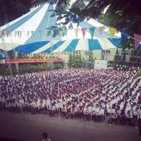 Photo taken at Hội Trường A5 Bách Khoa Tp.HCM by Danh L. on 9/6/2014
