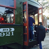 Photo taken at St. Charles Line Streetcar by Debbie W. on 1/25/2014