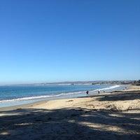 Photo taken at Monterey Municipal Beach by Serdar Y. on 1/30/2013