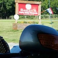 Photo taken at Bagley's Poplar Ridge Vineyards by ROD B. on 9/3/2016