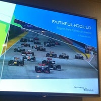 Photo taken at Pit Straight Club Suite Level by Kathy L. on 9/21/2014