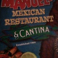 Photo taken at Manuel's Mexican Food by Monte M. on 11/20/2014