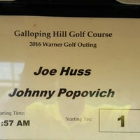 Photo taken at Galloping Hill Golf Course by John P. on 6/23/2016
