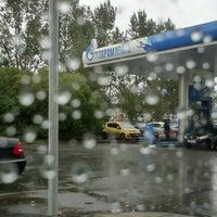 Снимок сделан в Газпромнефть АЗС № 30 пользователем Лидия С. 10/9/2017