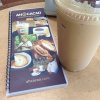 Photo taken at Ah Cacao Chocolate Café by Laurentina T. on 6/19/2014