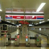Photo taken at Keiō-hachiōji Station (KO34) by もるもっと on 10/10/2012