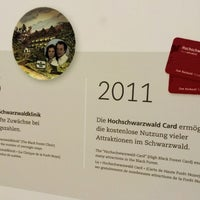 Photo taken at Hochschwarzwald Card Headquarter by Konstantin Andreas F. on 9/10/2014