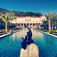 Photo taken at J. Paul Getty Villa by Shann B. on 1/18/2013
