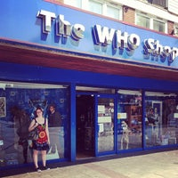 Photo taken at The Who Shop & Museum by Bastiaan V. on 7/17/2013