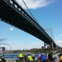 Photo taken at Five Boro Bike Tour by Marvin Terrell™ on 5/4/2014