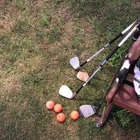 Photo taken at Sky72 Dream Golf Range by Hyejin P. on 8/10/2018