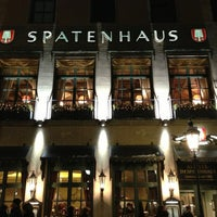 Photo taken at Spatenhaus an der Oper by Taylor on 1/22/2013