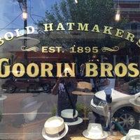 Photo taken at Goorin Bros. Hat Shop Magazine St. by Taylor on 4/13/2013