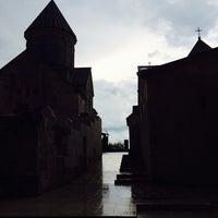 Photo taken at Haghartsin Monastery   Հաղարծնի վանք by Mariam S. on 5/26/2014