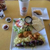 Photo taken at Daphne's California Greek by stephen w. on 8/9/2014
