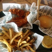 Photo taken at Wingstop by stephen w. on 10/1/2013