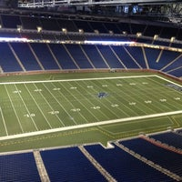Photo taken at Ford Field by Ron N. on 1/5/2013