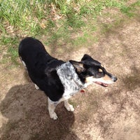 Photo taken at Eau Claire County Dog Park by Jeanny H. on 5/16/2014