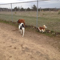 Photo taken at Eau Claire County Dog Park by Jeanny H. on 4/28/2014
