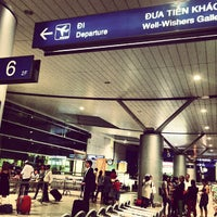 Photo taken at Tan Son Nhat International Airport (SGN) by Ken N. on 6/19/2013