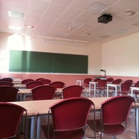 Photo taken at Edificio Juan Benet by José B. on 6/6/2013