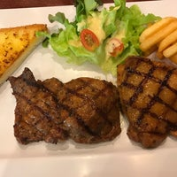 Photo taken at Jeffer Steak by Eng T. on 7/27/2017