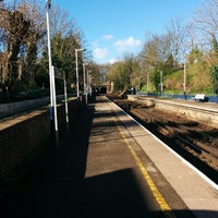 Photo taken at Fulwell Railway Station (FLW) by zbynda s. on 3/21/2014