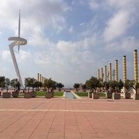 10/9/2012 tarihinde Gjerryt L.ziyaretçi tarafından Anella Olímpica'de çekilen fotoğraf