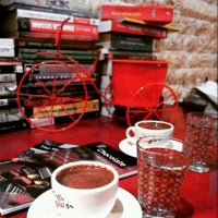 Photo taken at Abdülcanbaz Book & Cafe by Yağmur Ç. on 12/21/2014