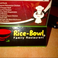 Photo taken at Rice Bowl by Chandra J. on 2/15/2013