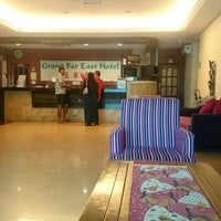 Photo taken at Grand Far East Hotel by Ahmad N. on 5/29/2015