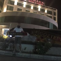 8/11/2017 tarihinde Emrah Ç.ziyaretçi tarafından Ramada Hotel & Suites Kemalpaşa'de çekilen fotoğraf