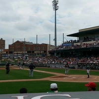 Photo taken at Fifth Third Field by Kevin B. on 7/7/2013